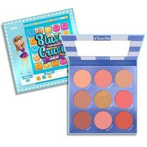 Rude Cosmetics Blush Crush 9 Color Blush Palette